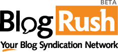 Blog Rush Logo