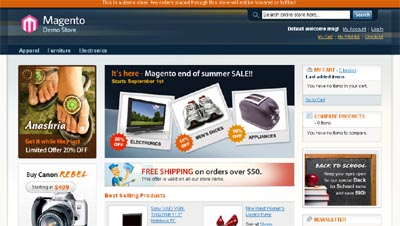 Magento, Professional Open-Source eCommerce Solution For Free 8