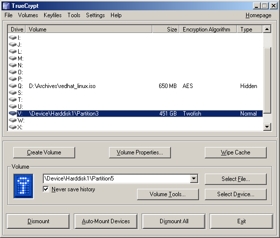Free Open-Source Disk Encryption Software For Windows Vista/XP/2000 And Linux