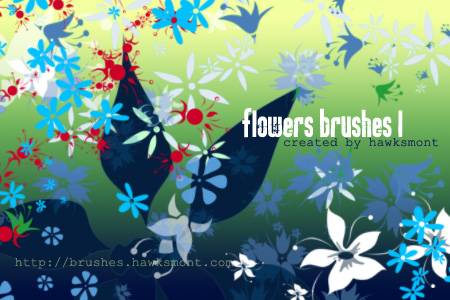 Free Photoshop Brushes: Flowers Part I