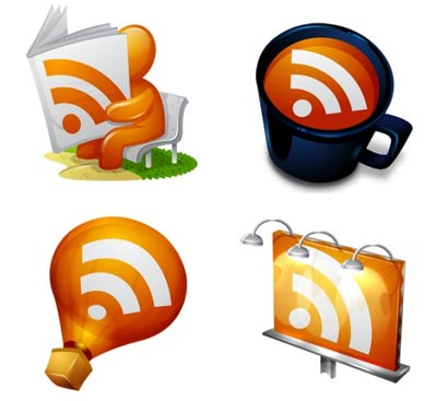 Smashing Magazine free RSS/Feed icon set