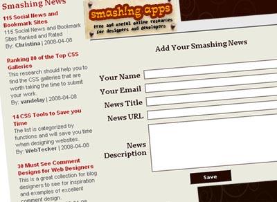 Smashing Apps News Splash
