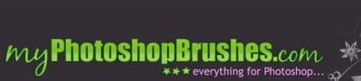 My photoshop brushes logo