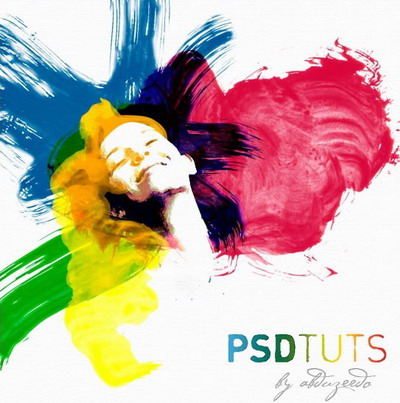 Water Color PSD Tuts