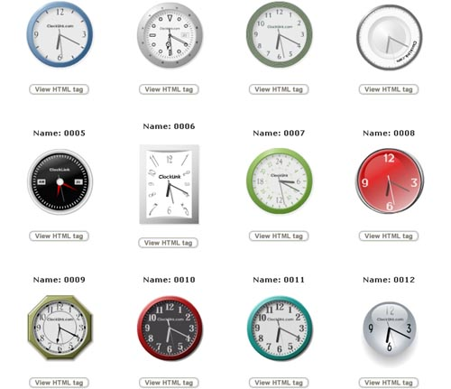 Free Flash World Clock For Your Web Pages Or Blogs 1