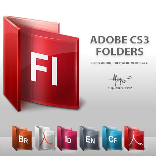 Adobe CS3 Folder Icons