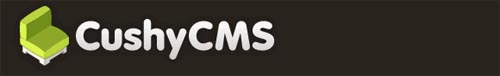 A Free And Truly Simple Content Management System, CushyCMS 1