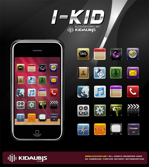 I-Kid Icons for iPhone