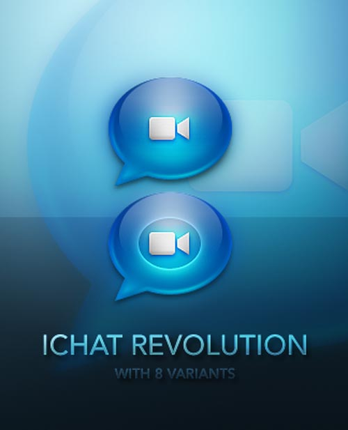 IChat Revolution Icons