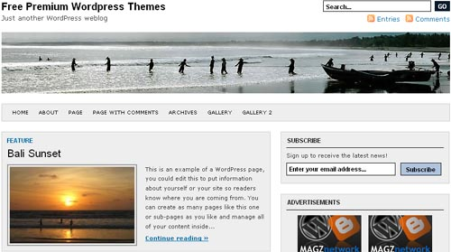 Indomagz Premium WordPress Theme