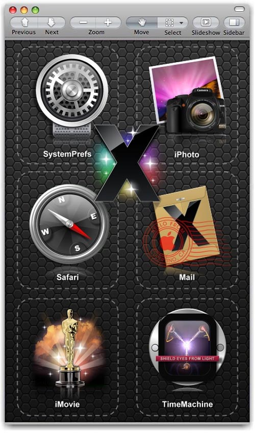 Laximus inspired icons