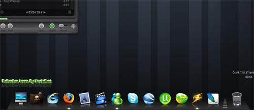 Reflective Dock Icons