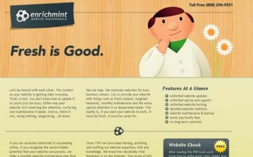 31 Websites Using Wood Elements
