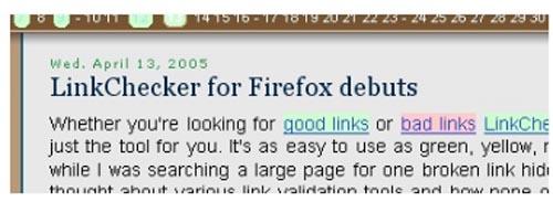 LinkChecker 0.6.3