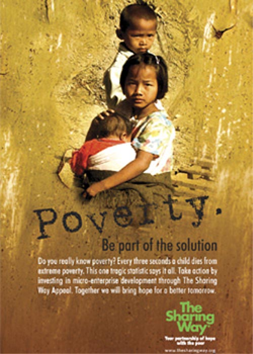 poverty be part of the solution
