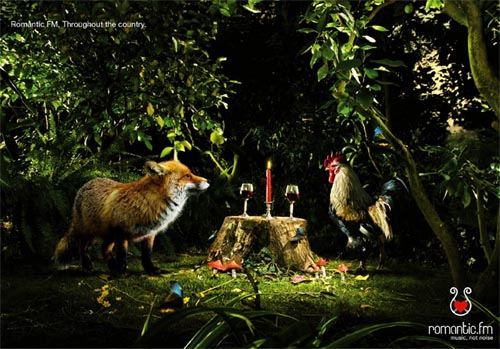 21 Extremely Vibrant And Creative Advertisements With Animals 12