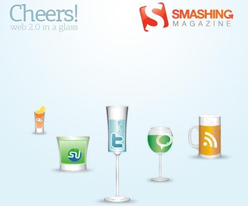 Smashing magazine cheers icons set