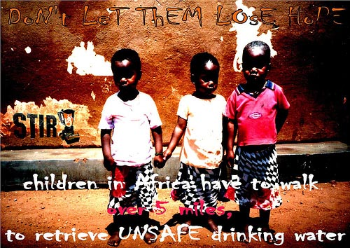 unsafe drinking water