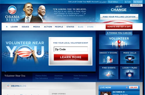 Barack Obama and Joe Biden: The Change We Need