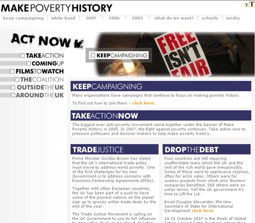 Make Poverty History