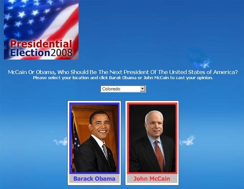 McCain Or Obama, Who Should Be The Next President Of The United States of America?