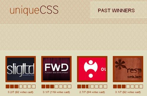 Unique CSS