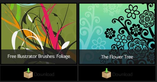 30 Beautiful Illustrator Brush and Symbol Collection
