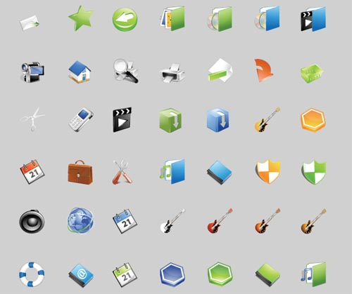 Bright, A Free Stock Vector Iconset By IconEden 1
