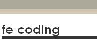 fecoding