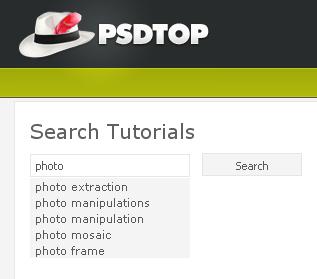 PSDTop Search