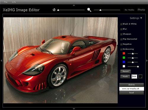 Xe-IMG Image Editor