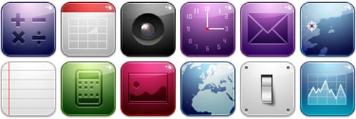 The 15 Best iPhone Iconsets of 2008