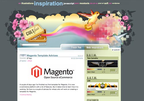 100 Websites With Outstanding Artistic Design