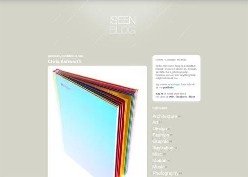 40 Excellent Blog Designs
