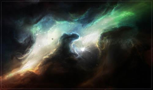40 Mind-blowing Digital Space Paintings