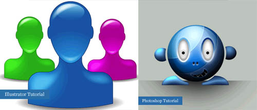 42 Amazing Photoshop and Illustrator Icon Design Tutorials