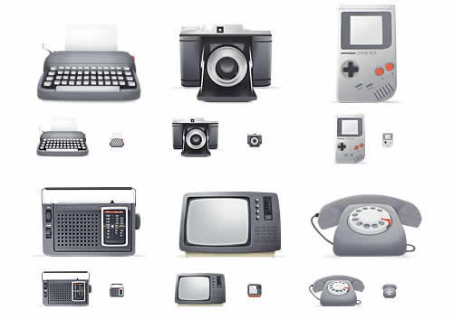 50 Most Beautiful Icon Sets Created in 2008