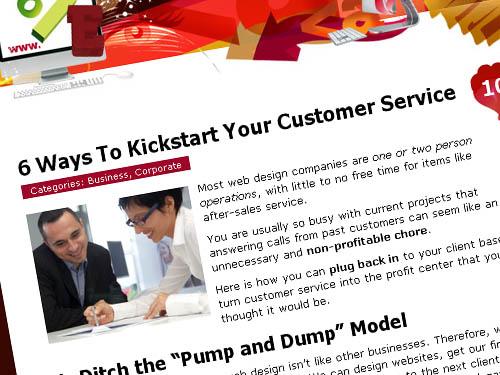 6 Ways To Kickstart Your Customer Service