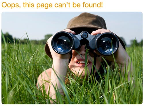 60 Really Cool and Creative Error 404 Pages