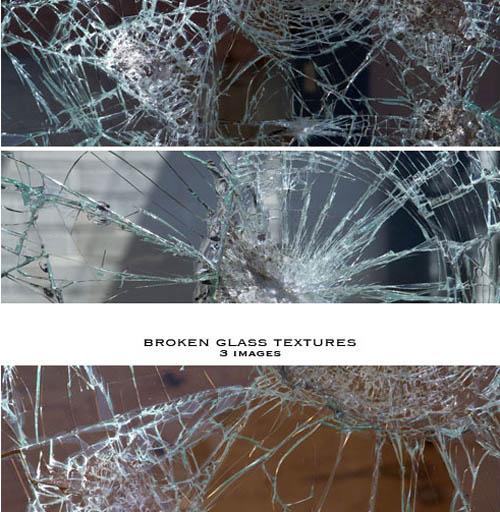 Broken Glass Textures