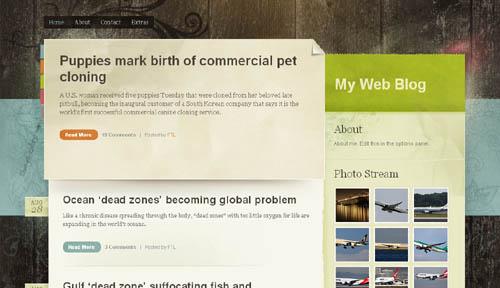 Color Paper: A Free WordPress Theme