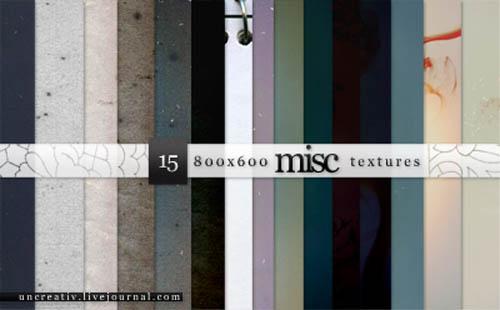 Miscellaneous Textures