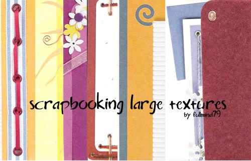 Scrapbooking Large Textures