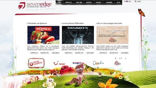 The 10 Prettiest Web Designs of 2008
