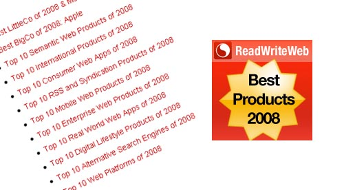 Top 100 Products of 2008