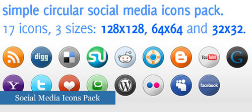 30 Amazingly Creative Social Bookmarks Icon Sets