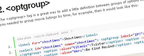 10 Rare HTML Tags You Really Should Know