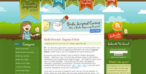 21 Beautiful Blog Designs