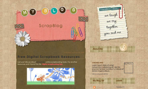 40 Free Beautiful Blogger Templates