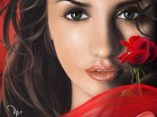 40 Incredible Digital Painting Portraits